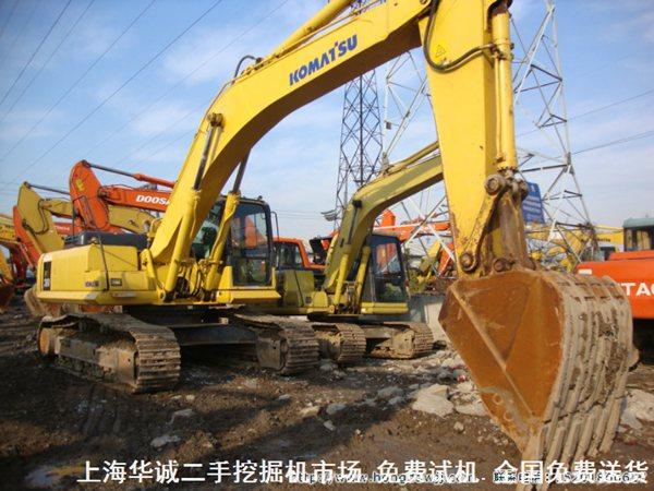 大型二手小松挖掘机