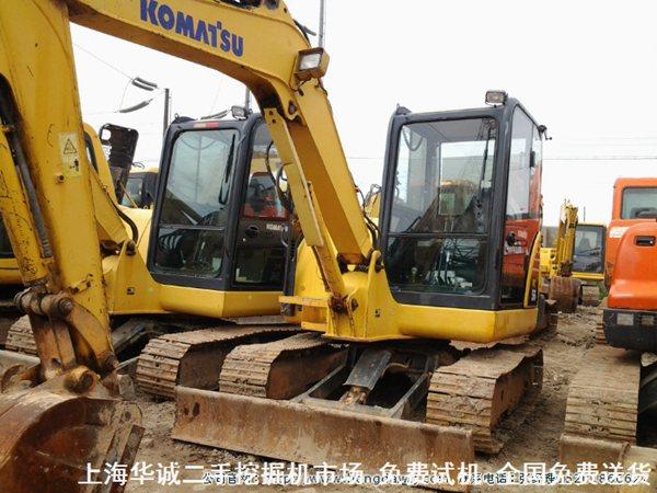 小松56挖掘机