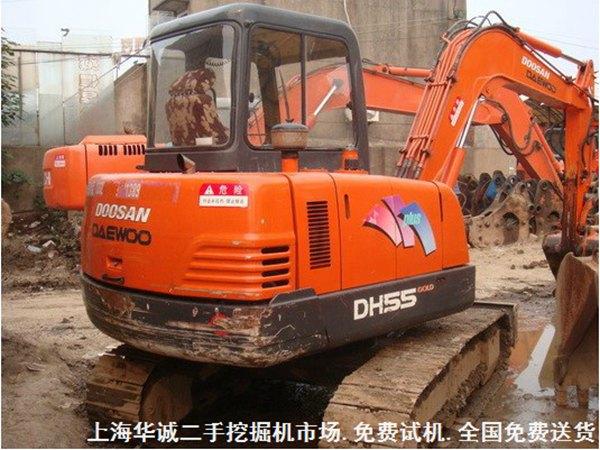 二手挖掘机