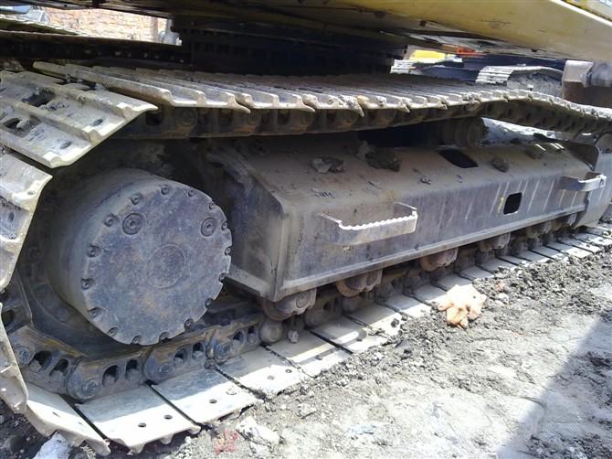 二手卡特312C挖机履带