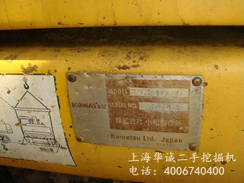 小松PC210-6标牌